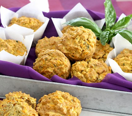 Carrot and Parsnip Muffins