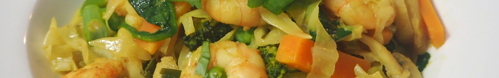 Curried Prawn Stir Fry