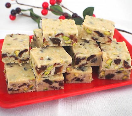 White Christmas Fudge