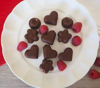 Raspberry Chocolates