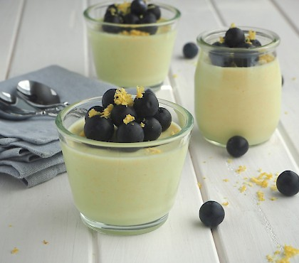Honey and Lemon Puddings