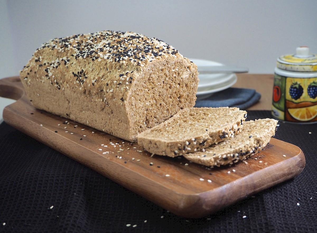 Paleo Sesame Sandwich Loaf Paleo The Joyful Table