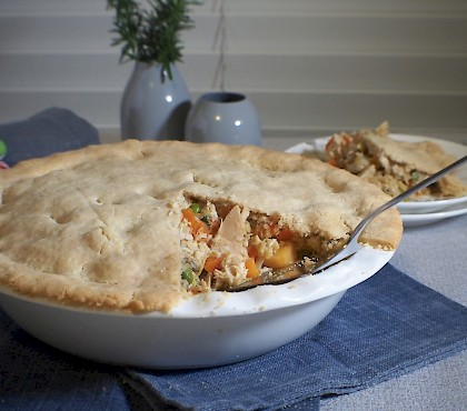 Chicken & Vegetable Pie