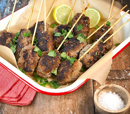 Barbecue Beef Skewers