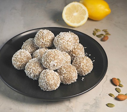 Lemon Bliss Balls
