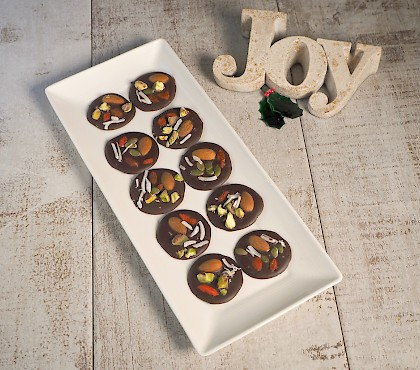 Festive Chocolate Buttons