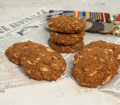 Paleo Anzac Biscuits