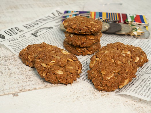 Anzac Biscuits And Gallipoli Paleo The Joyful Table