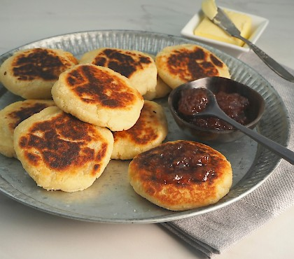 Irish Potato Scones