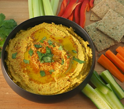 Roasted Carrot 'Hummus'